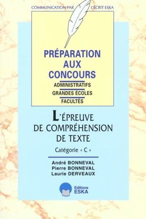 Epreuve de comprehension de texte