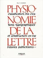 René H Munsch - Physionomie de la lettre