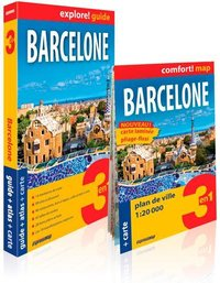 Barcelone (explore! guide 3en1)