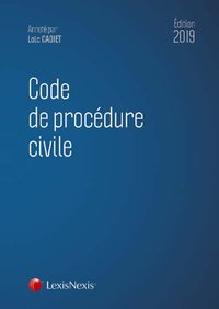 Code de procedure civile 2019