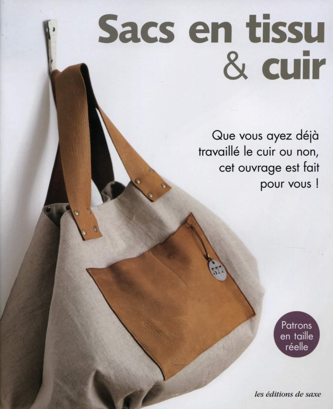 Eyrolles Sacs Éditions De Librairie Tissu Et Cuir Saxe Collectif En shQdrt