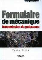 Youde Xiong - Formulaire de mécanique