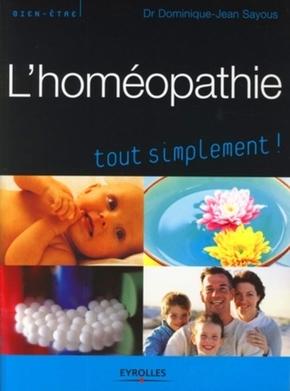 D.-J.Sayous- L'homeopathie tout simplement