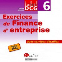 Exercices de finance d'entreprise - DCG 6