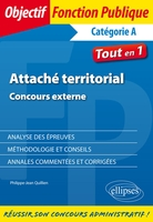 Attache territorial. concours externe