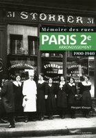 Paris 2e arrondissement - 1900-1940