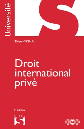 Droit international privé - 5e ed.