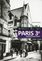 Paris 3e arrondissement - 1900-1940
