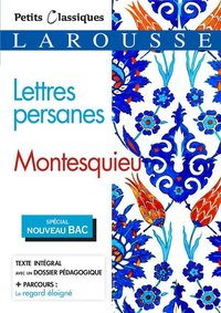 Lettres persanes (bac 2020-2021)