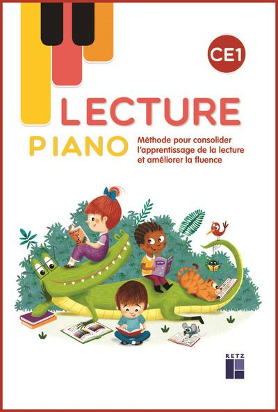 Lecture piano ce1 - manuel - Librairie Eyrolles