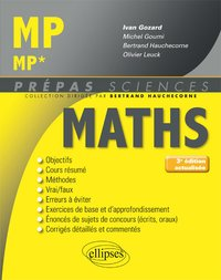 Maths - MP, MP*