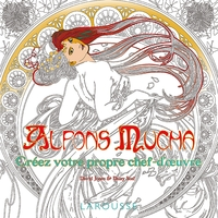 Alphons Mucha - Coloriages
