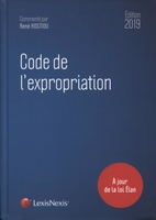 Code de l'expropriation 2019
