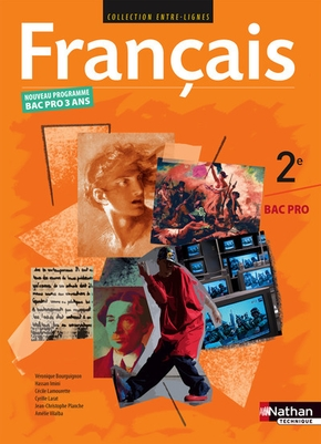 Entre Lignes Francais 2nde Bac Pro Livre De L Eleve Librairie Eyrolles