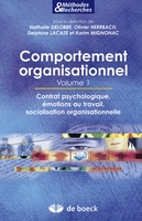 Comportement organisationnel - Volume 1