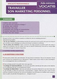 Travailler son marketing personnel