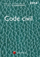 Code civil 2014 - Version cuir turquoise