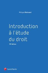 be6f04f48a1 Introduction à l étude du droit - 2018-2019 - P.Malinvaud - 18ème ...