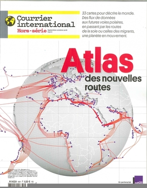 Courrier international hs n 66 atlas des nouvelles routes - septembre 2018