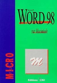 Word 98 sur Macintosh