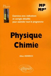 Physique Chimie - MP MP*