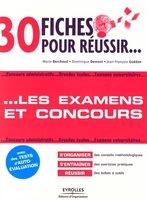 M.Berchoud, D.Demont, J.-F.Guédon - 30 fiches pour réussir les examens et concours
