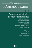 Amerique centrale:pseudo-democraties-pal 113