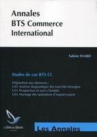 Annales BTS Commerce International - Etudes de cas BTS CI