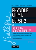 Physique chimie BCPST 2