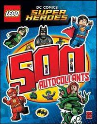 Lego dc comics super sticker 01