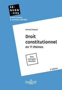 Droit constitutionnel - 2e ed.