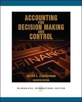 ACCOUNTING FOR DECISION MAKINGAND CONTROL