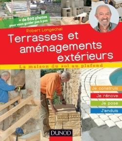 Terrasses Et Aménagements Extérieurs R Longechal Librairie Eyrolles