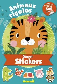 Super stickers - animaux rigolos