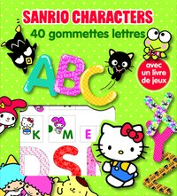 Sanrio characters - 40 gommettes lettres lic.