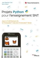 J.-B.Civet, B.Hanuš - Projets Python pour l'enseignement SNT