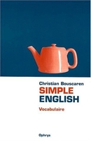 Simple english - vocabulaire