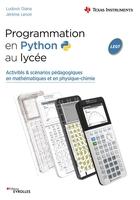 L.Diana, J.Lenoir - Programmation en Python au lycée