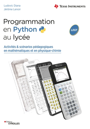 L.Diana, J.Lenoir- Programmation en Python au lycée