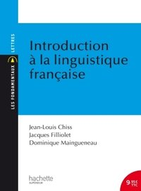Introduction à la linguistique française