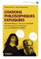 Florence Perrin, Alexis Rosenbaum - Citations philosophiques expliquées