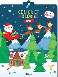 Coller et colorier - noël