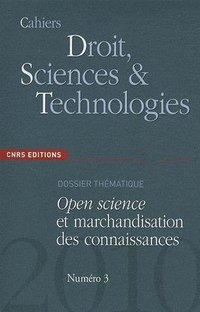 Cahiers Droit, Sciences & Technologies T.3