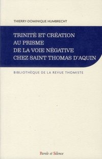 Trinite et creation au prisme de la voie negative