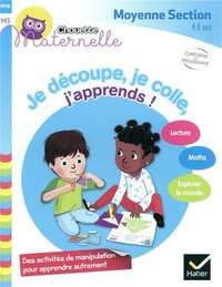 Je découpe, je colle, j'apprends moyenne section