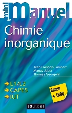 Mini-manuel de chimie inorganique