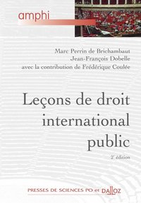 Leçons de droit international public - 2e ed.
