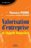 Florence Pierre, Eustache Besançon - Valorisation d'entreprise et théorie financière