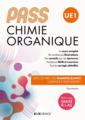 Chimie organique, Pass, UE1
