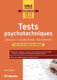 Tests psychotechniques - 2019-2020